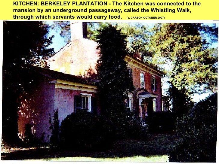 Berkeley plantation carson october 2007 6 kitchen berkeley sciox Gallery