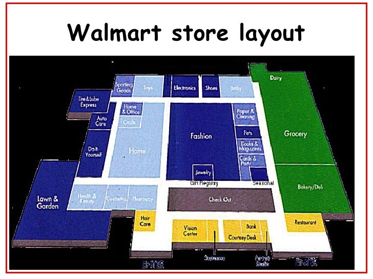 Best Walmart Store Layout Diagram Www Whenintransit Com