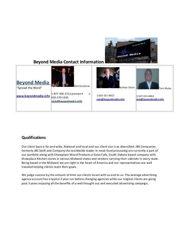 Beyond Media Media Kit Slide 3