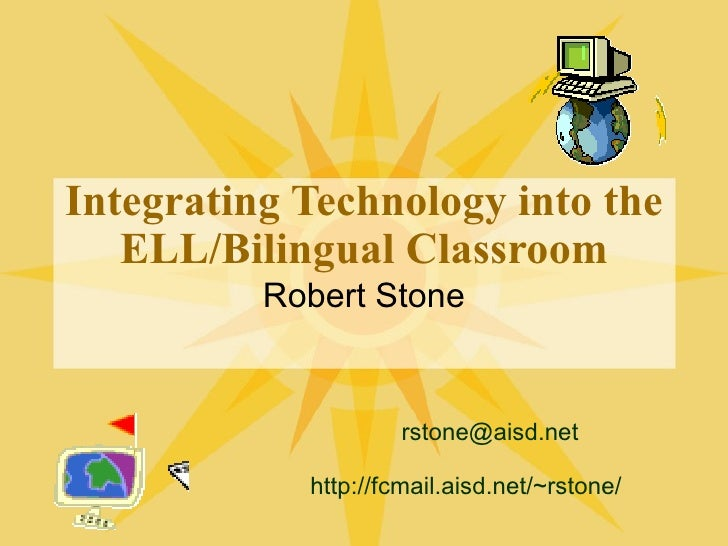 integrating technology into classrooms Integration is when classroom teachers use technology to introduce, reinforce, extend, enrich, assess, and remediate student mastery of curricular targets integration is an instructional choice that generally includes collaboration and deliber.