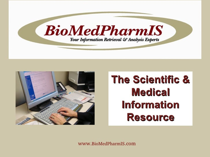 The Scientific & Medical Information Resource