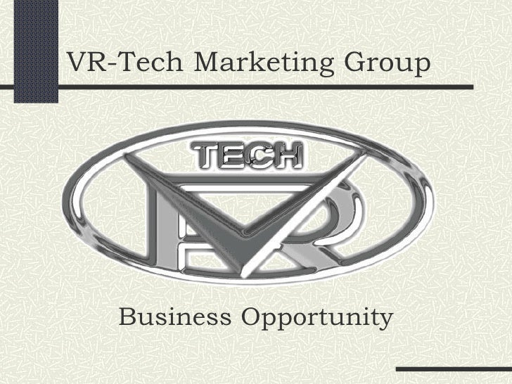 VR-Tech Marketing Group Business Opportunity