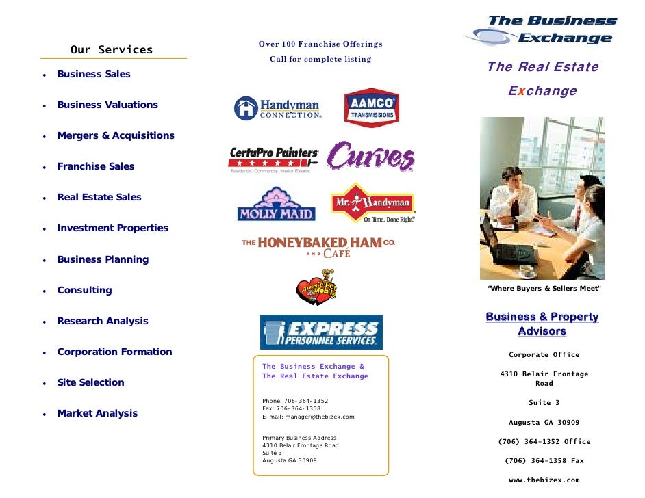 Over 100 Franchise Offerings        Our Services                                 Call for complete listing                ...