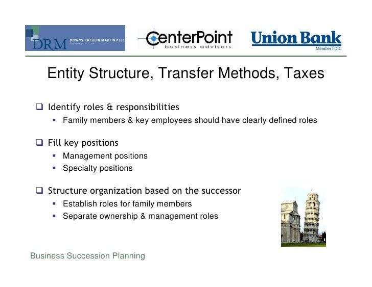business sequence intending tax