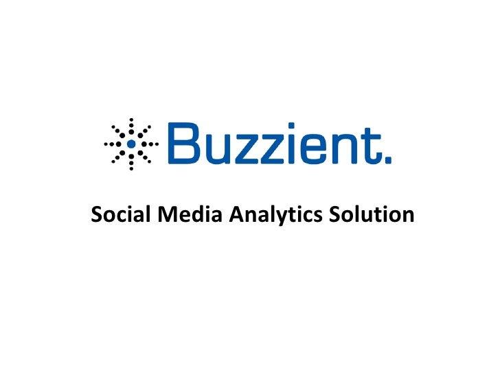 Social Media Analytics Solution