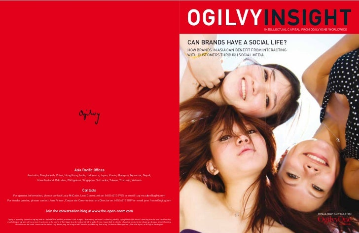 INTELLECTUAL CAPITAL FROM OGILVYONE WORLDWIDE                                                                             ...