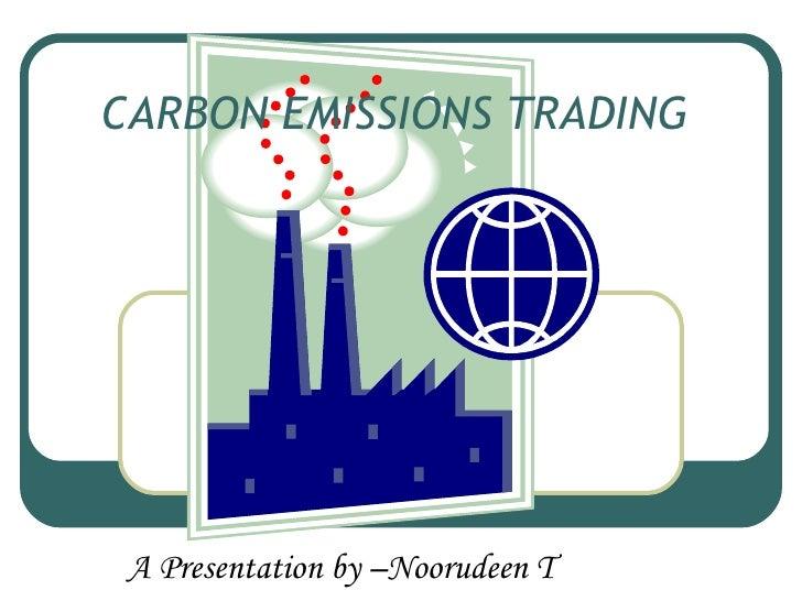 Emission trading system eu