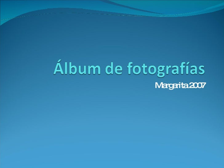 Margarita 2007