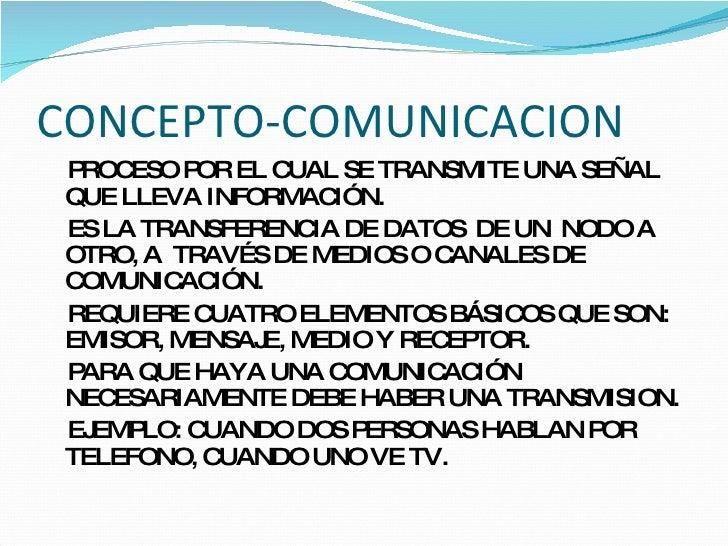 Taller2 concepto comunicacion transmision for Concepto de oficina