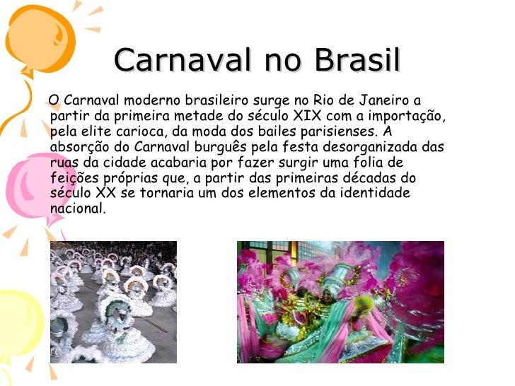 Image result for historia carnaval brasil