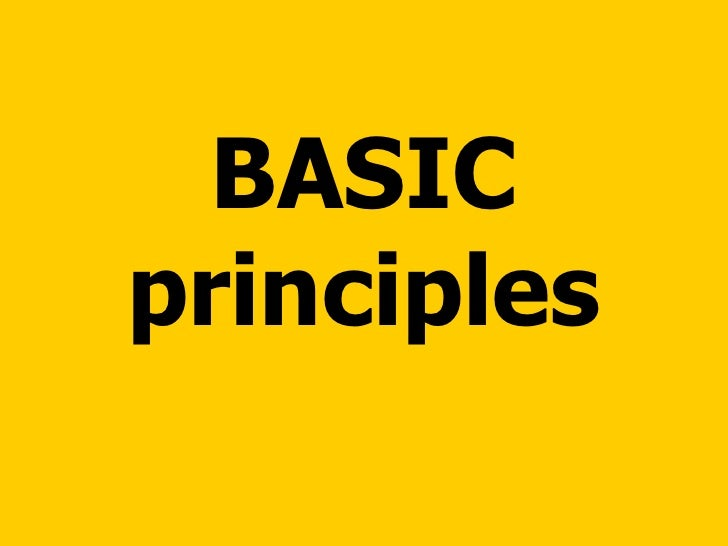 general principles essay The general principle of equality and non-discrimination is a fundamental  element of international human rights law a useful definition of.