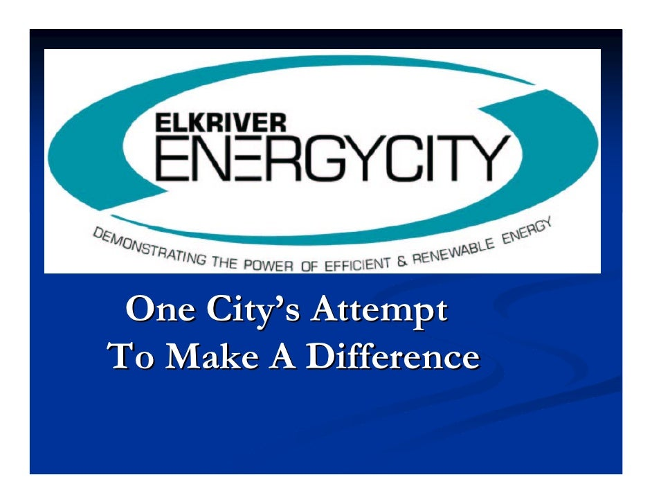 One City's Attempt To Make A Difference
