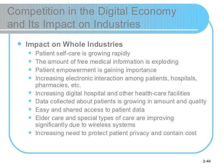 Competition in the Digital Economy  and Its Impact on Industries <ul><li>Impact on Whole Industries </li></ul><ul><ul><li>...