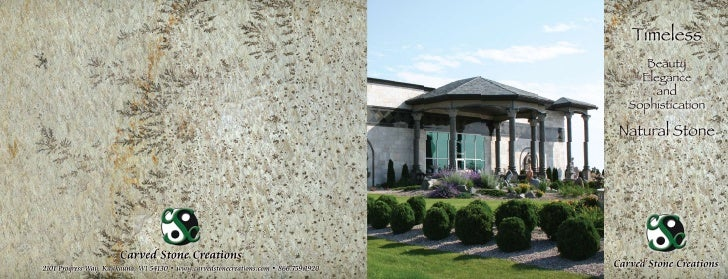 """Carved Stone Creations 