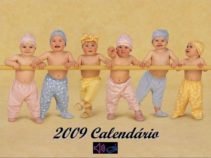 2009 Calendário
