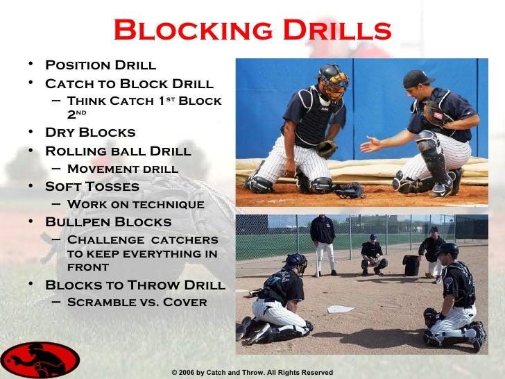 Resultado de imagen para softball catcher drills