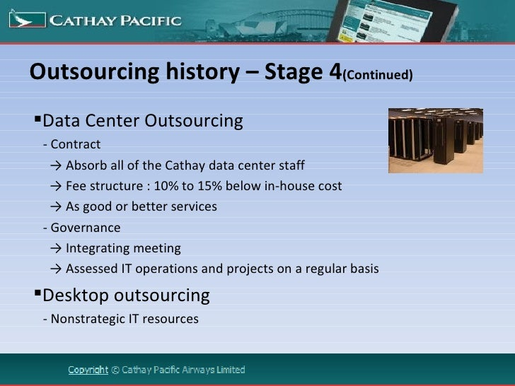 history of outsourcing Outsourcing in europe an in-depth review of drivers, risks and trends in the european outsourcing market 1 dear fellow outsourcing professionals.