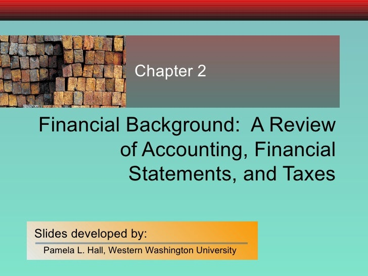 a review of financial and accounting