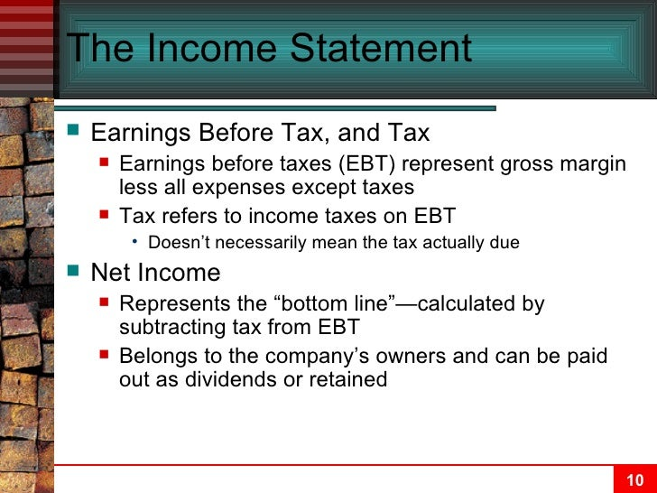 Image Result For Accounting For Income Tachapter