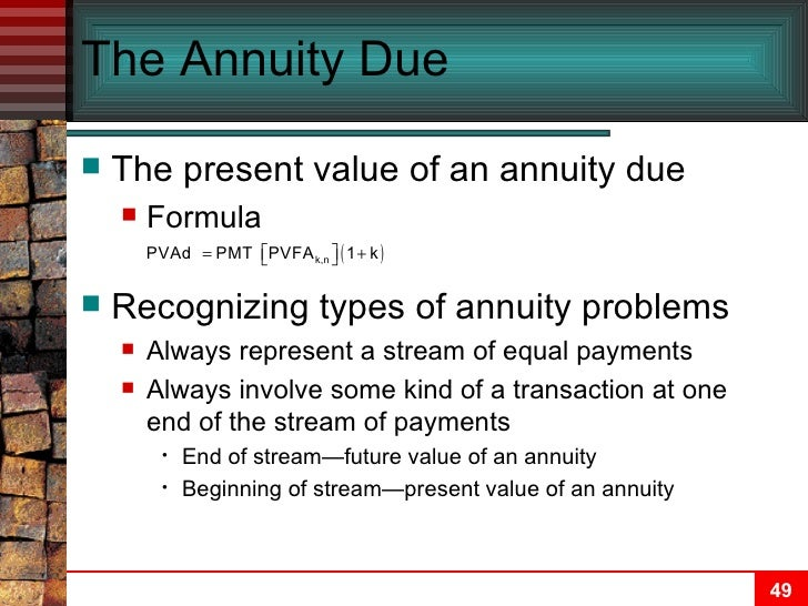 chapter 05 time value of money