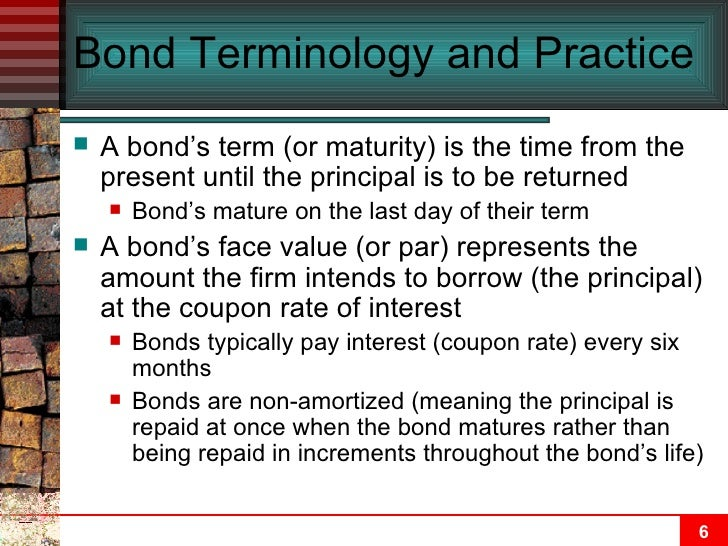 valuation and characteristic of bonds and Chapter 7: the valuation and characteristics of bonds [skip navigation] chapter 7 web links: chapter 7 student excel templates: profile  chapter 7 web links.