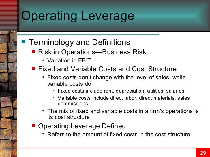 capital structure and leverage ch 13 Capital structure and leverage: capital structure and leverage: solutions to end-of-chapter problems 13-1 qbe = qbe = qbe = 500,000 units 13-2 the optimal capital structure is that capital structure where wacc is minimized and stock price is maximized.
