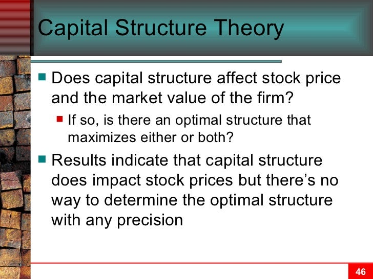 capital structure and leverage ch 13 13-1 chapter 13 capital structure and leverage business vs financial risk  optimal capital structure operating leverage capital.