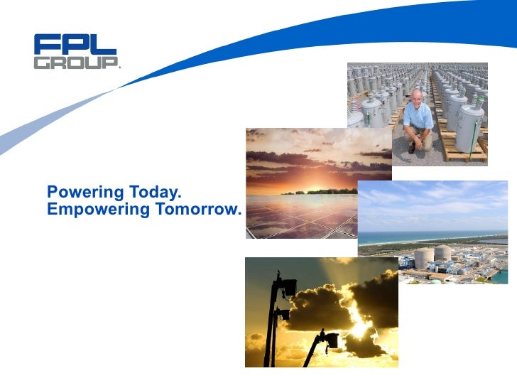 Powering Today. Empowering Tomorrow.