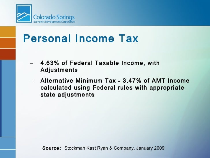 Denver Colorado Personal Property Tax Rate