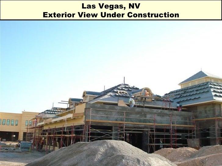 Las Vegas, NV Exterior View Under Construction