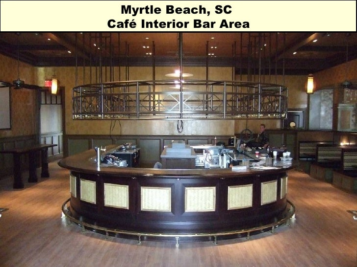 Myrtle Beach, SC  Café Interior Bar Area