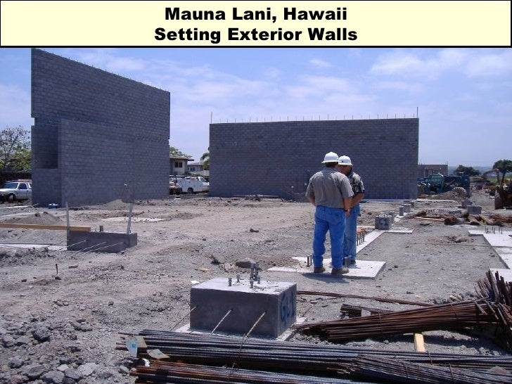 Mauna Lani, Hawaii Setting Exterior Walls
