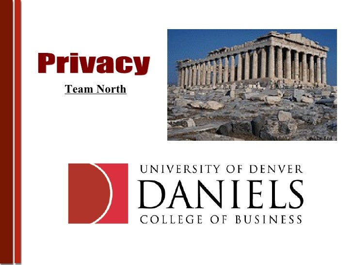 Privacy Team North