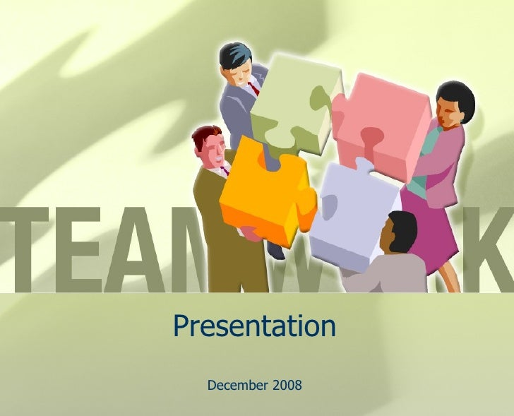 Presentation December 2008