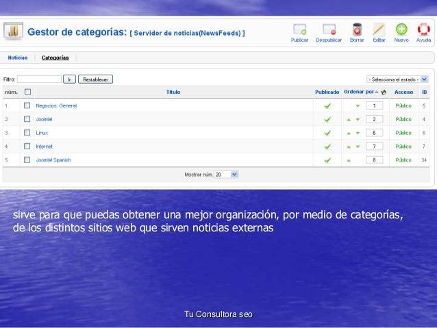 sirve para que puedas obtener una mejor organización, por medio de categorías,  de los distintos sitios web que sirven not...