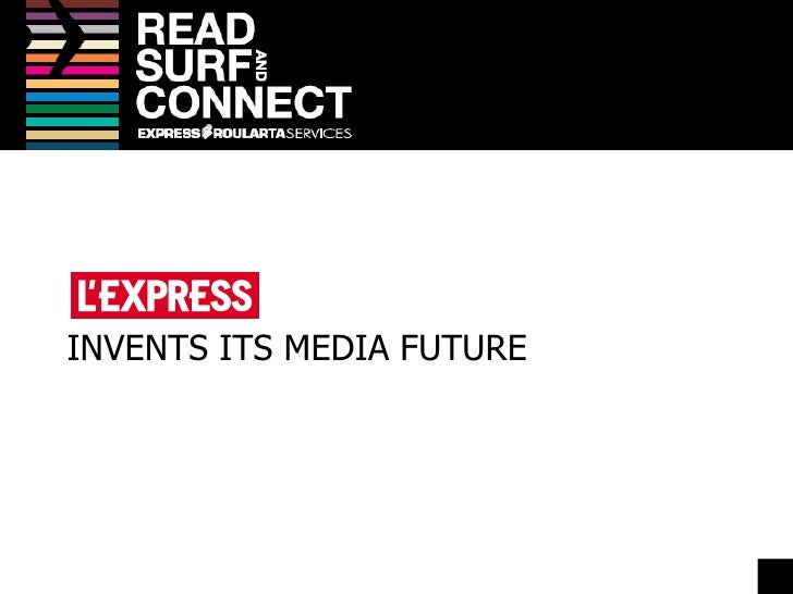 INVENTS ITS MEDIA FUTURE