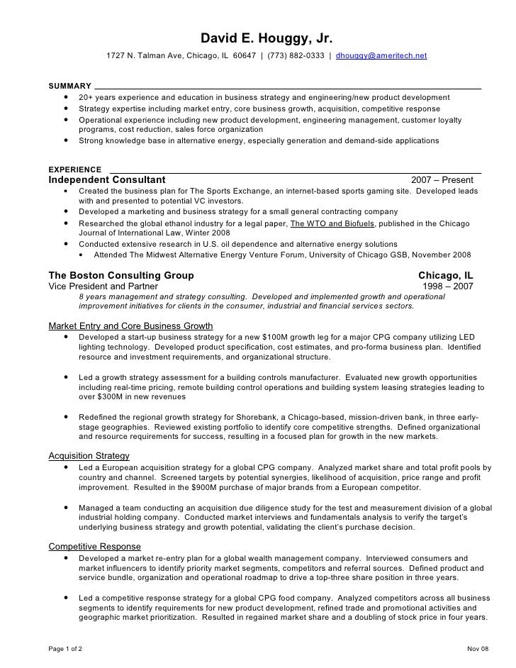 academic proofreading - resume bcg
