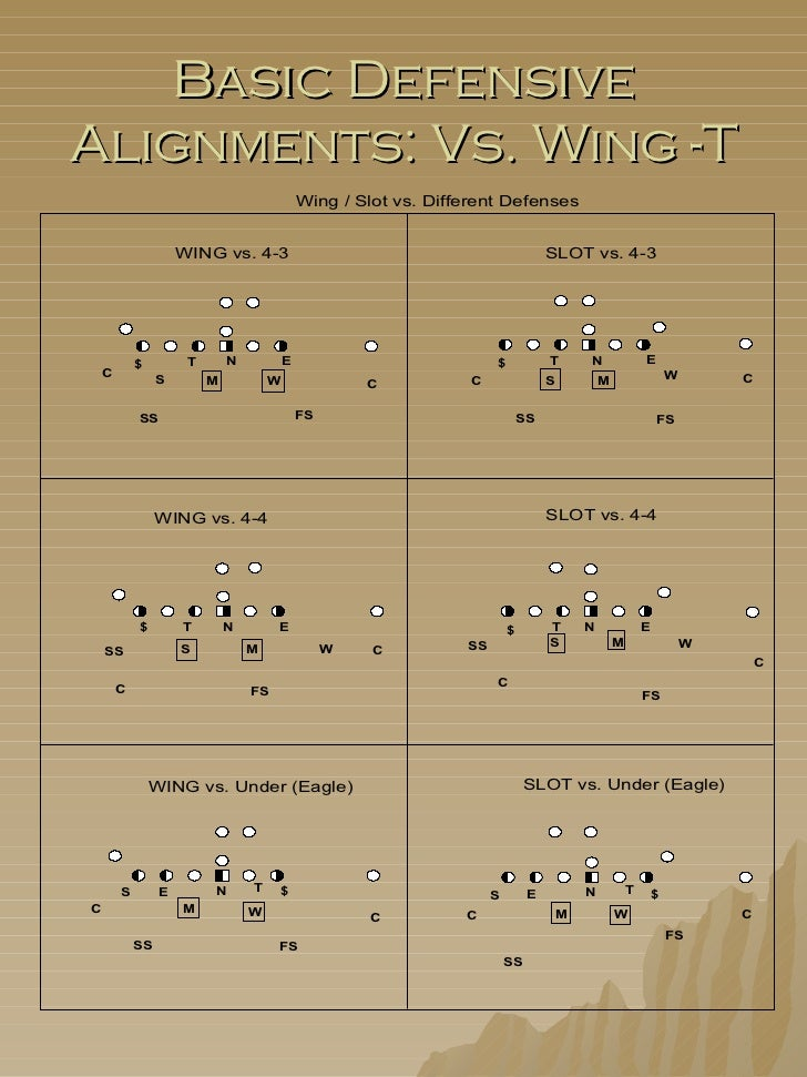 Delaware wing t playbook