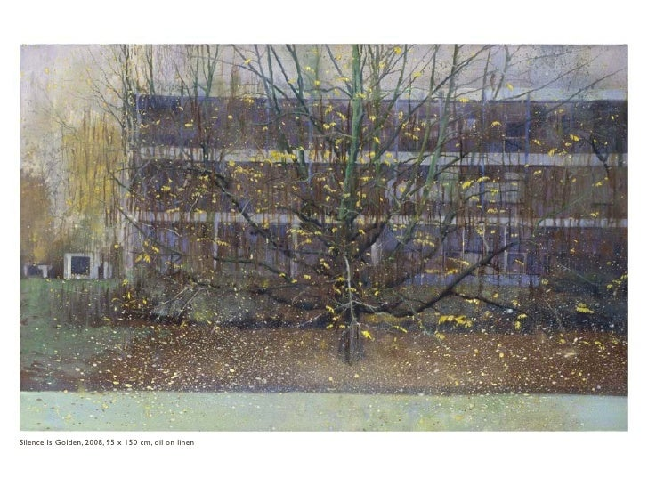 Sil is Silence Is Golden, 2008, 95 x 150 cm, oil on linen