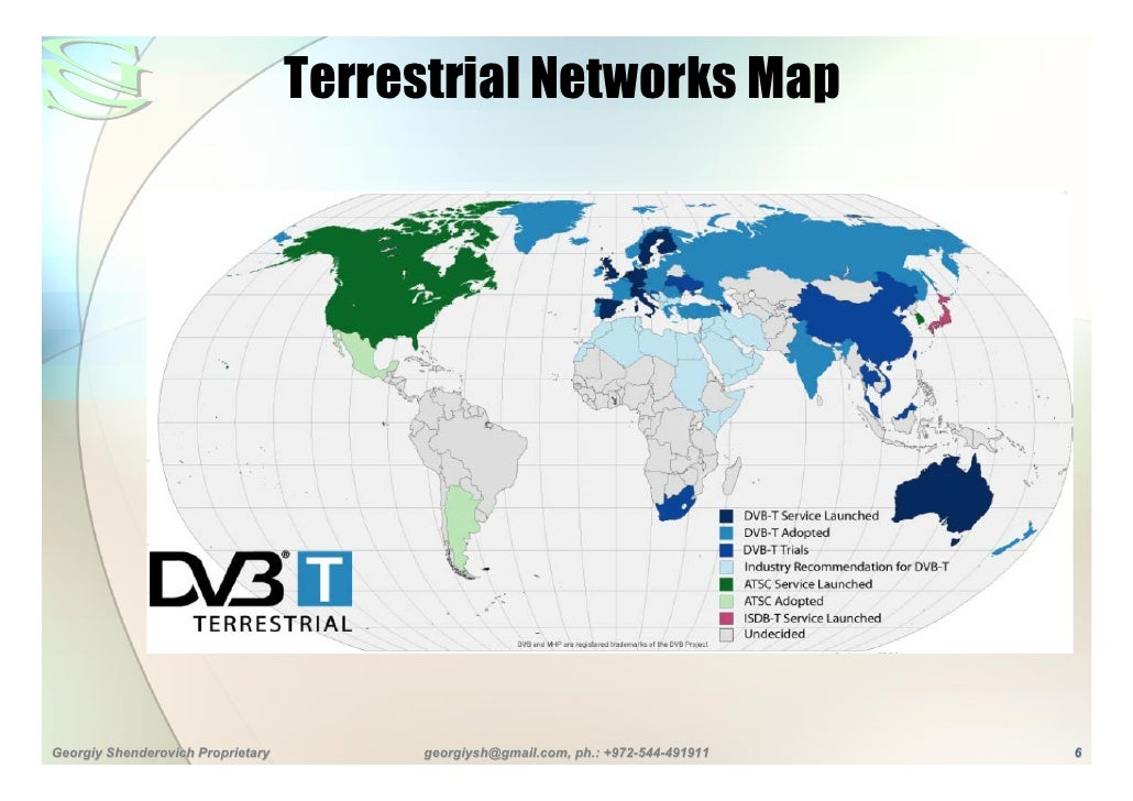 Digital tv overview 6 terrestrial networks map gumiabroncs Image collections