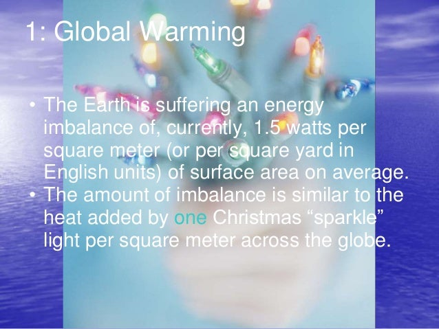 disputation on planning and global warming theses