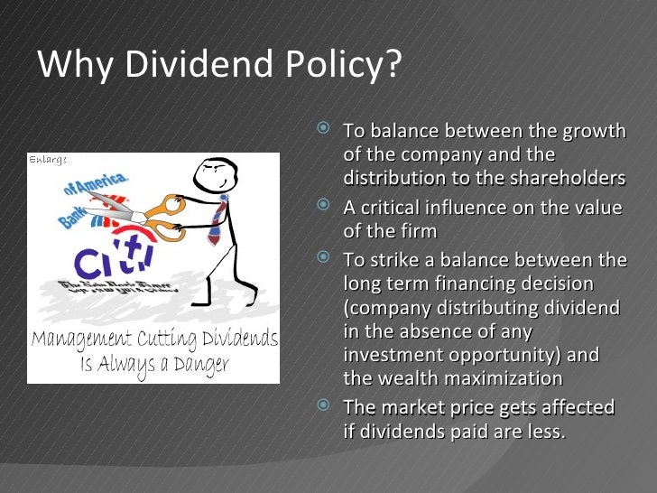dividend policy of indian companies