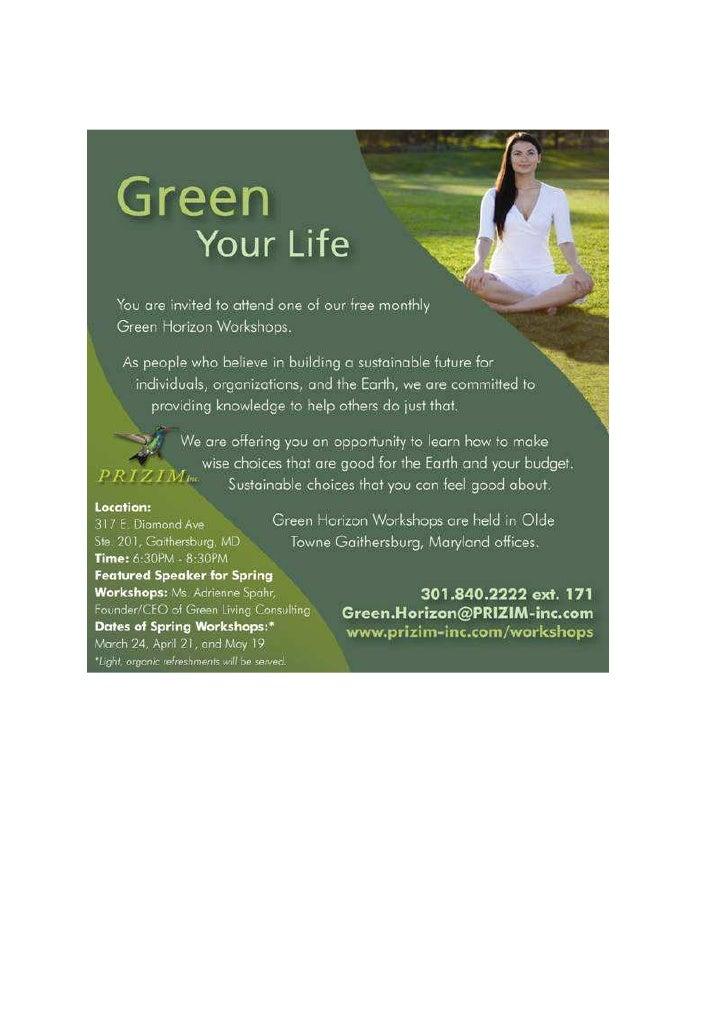 Green Horizon Workshops