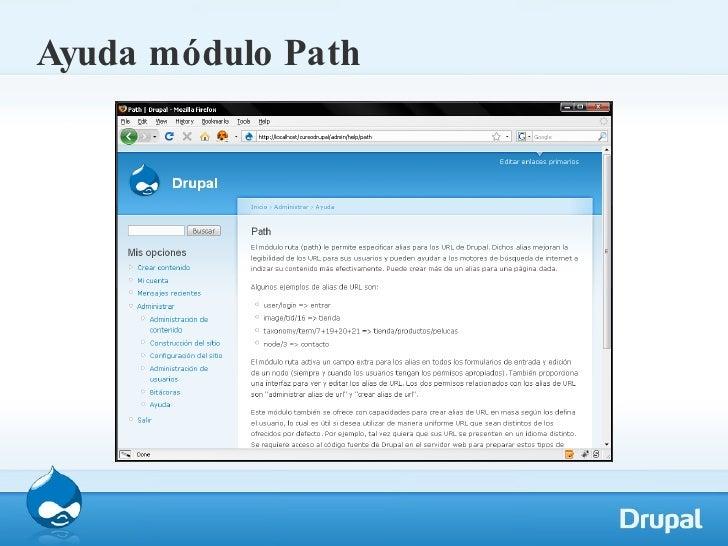 Ayuda módulo Path