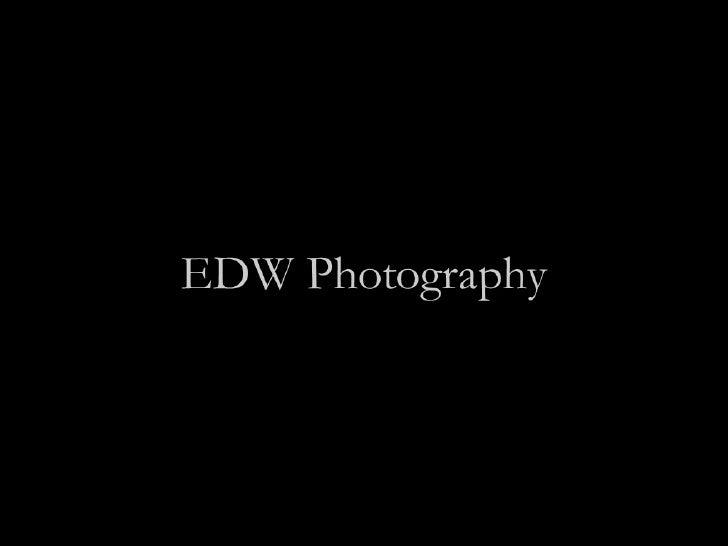 Edw Portfolio 2