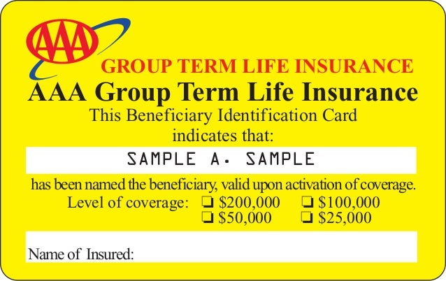 AAA Life Insurance Direct Mail