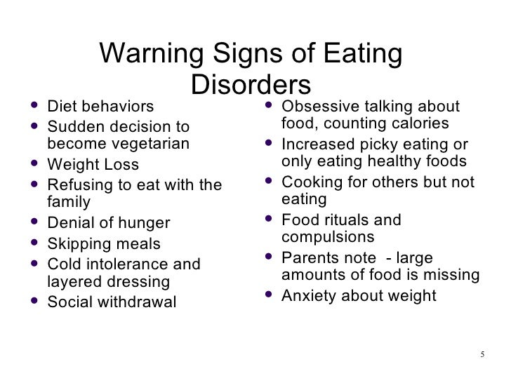 development of eating disorders in adolescents It was once believed that adolescents developed anorexia due to highly critical or  dysfunctional family environments however, we now know that eating.