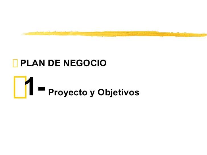 Ejemplo de un Plan de Negocios Slide 3