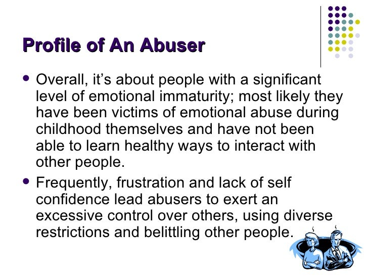 Why Do People Verbally Abuse Others