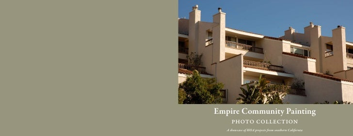 Empire Community Painting    A showcase of HOA projects from southern California